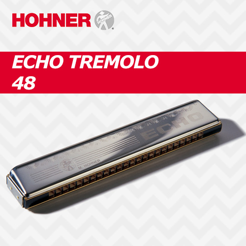 eed8bee4b01 호너 하모니카 에코 트레몰로 48 / HOHNER Harmonica Echo Tremolo 48 / C key (해외배송 가능상품)